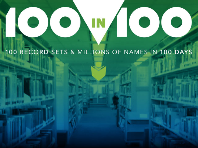 100 new record sets and millions of names in 100 days