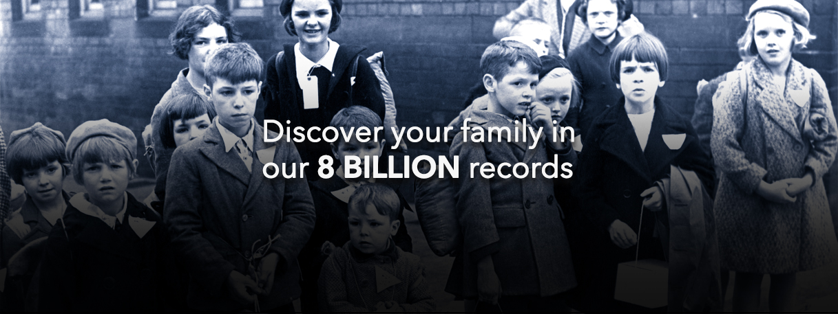 Trace your Family Tree Online   Genealogy  amp  Ancestry from