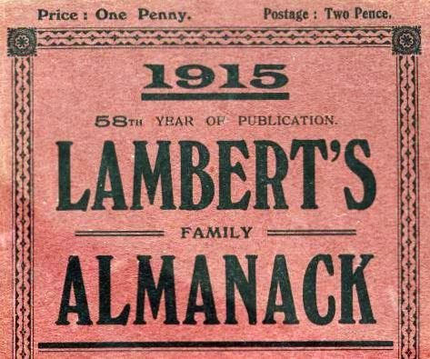 Suffolk Almanack 1915