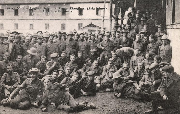 Turkish Prisoner of War Camp