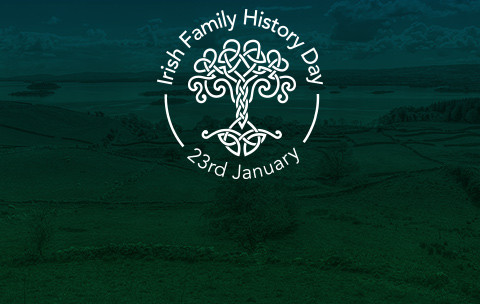 Irish family history day, Jan 24