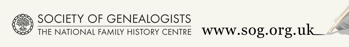 logo society of genealogists