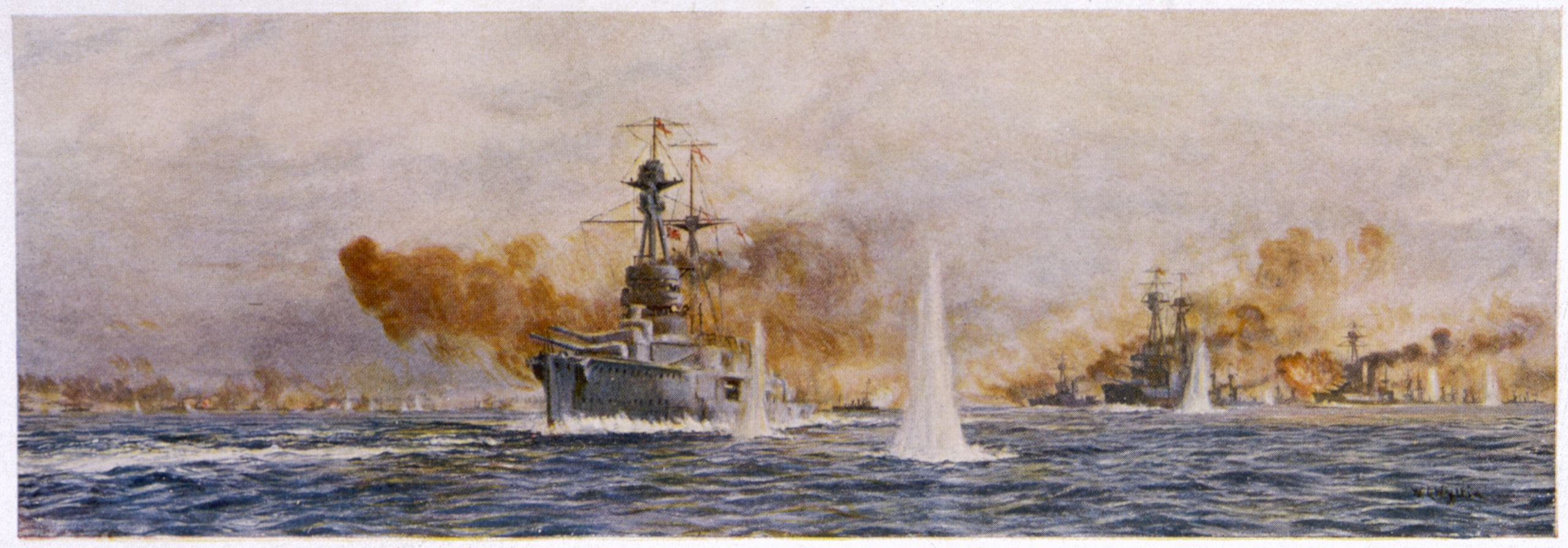 British action at Jutland