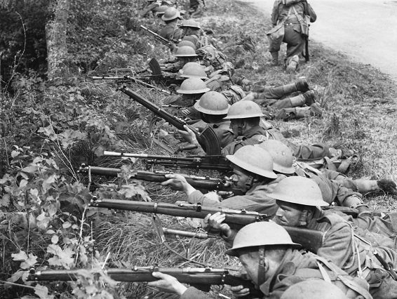 British troops, Second World War