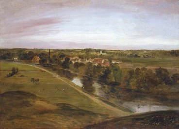 John Constable Stratford St Mary from the Coombs