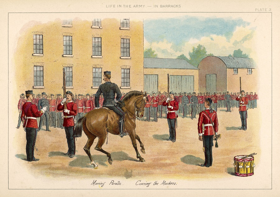 Further information on the 1871 Worldwide British Army Index