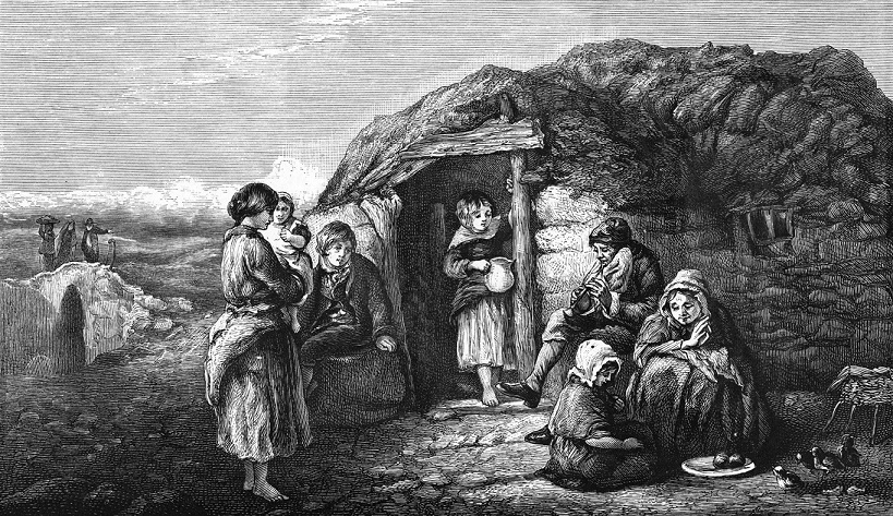 Irish Peasant Cabin